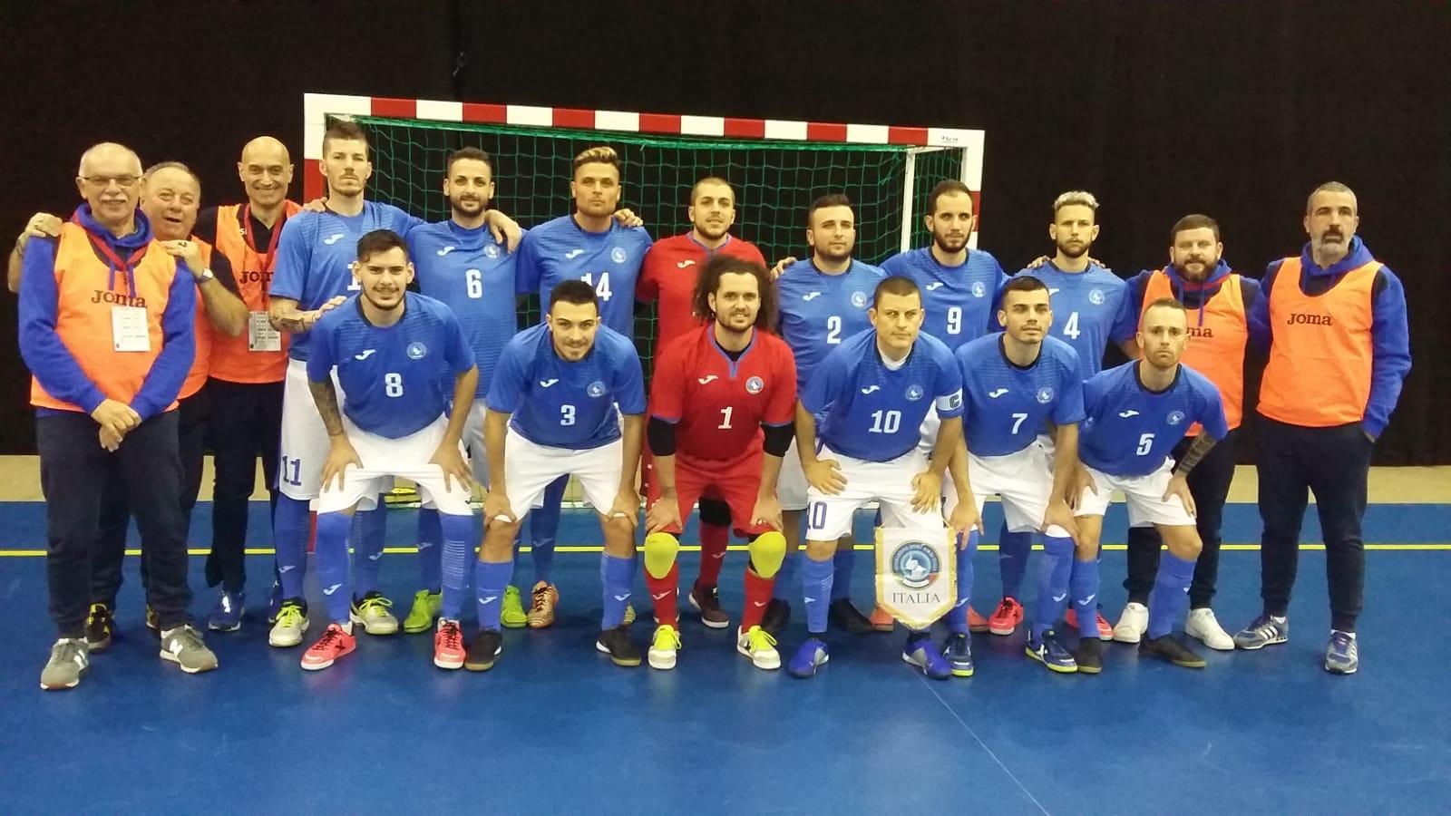 5° Campionato Europeo di Futsal a Tampere. Italia vs Finlandia 4-0