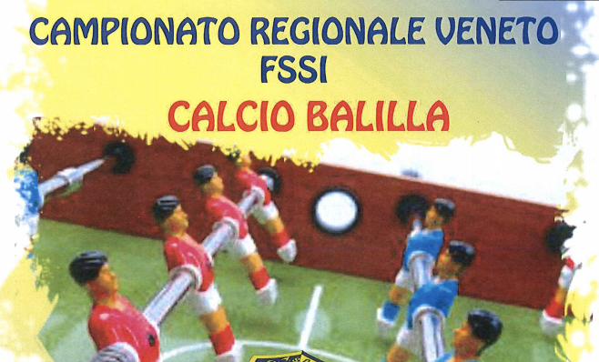 19 Gennaio, Rosario di Grezzana (VE). Campionato Regionale FSSI di Calcio Balilla