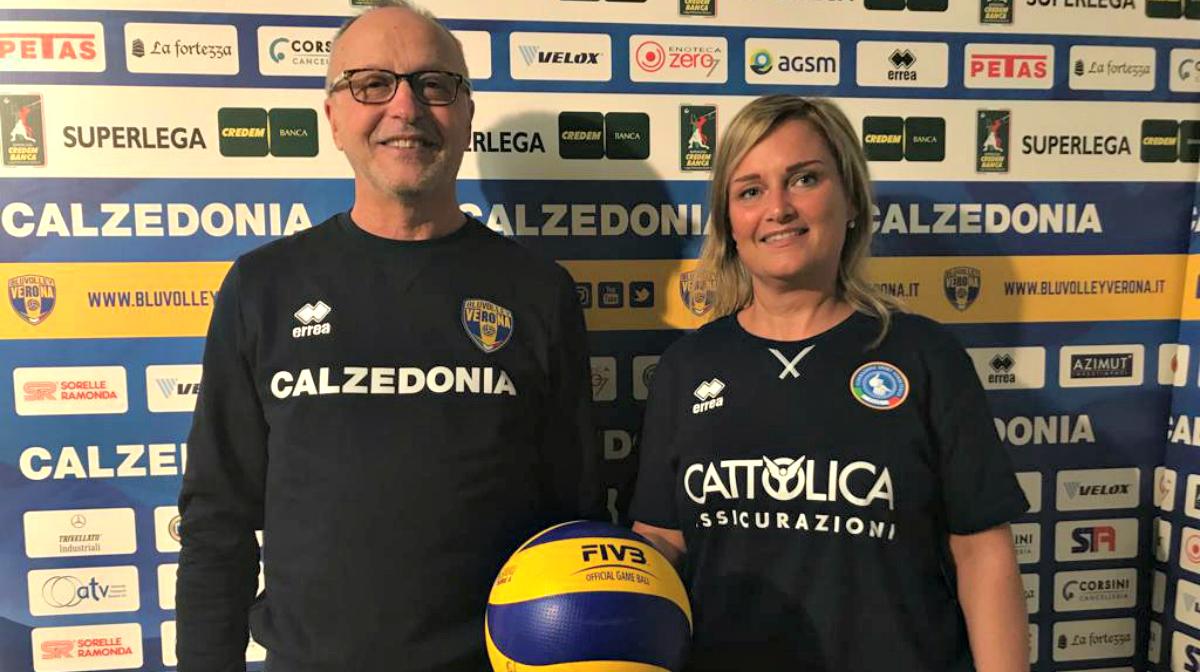 Frigoni si rimette la tuta, dal 25 al 27 gennaio, sarà nello staff della Nazionale Italiana Volley/F sorde