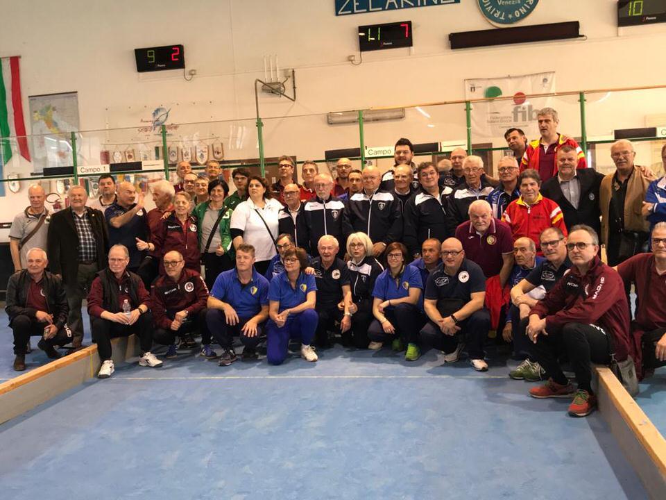 Risultati e foto del Campionato FSSI di Bocce Sintetiche svoltosi a Zelarino (VE)