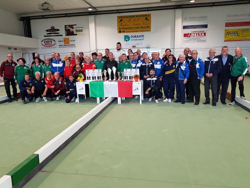 Risultati e foto del Campionato FSSI Bocce svoltosi a Motta di Livenza (TV)