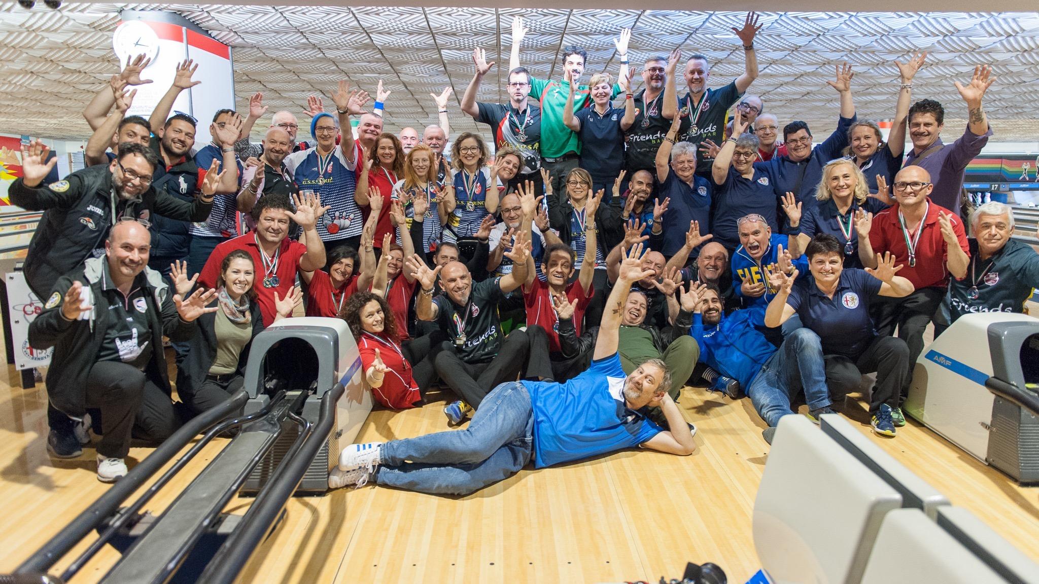 Risultati e foto del Campionato FSSi di Bowling svoltosi a Ciampino