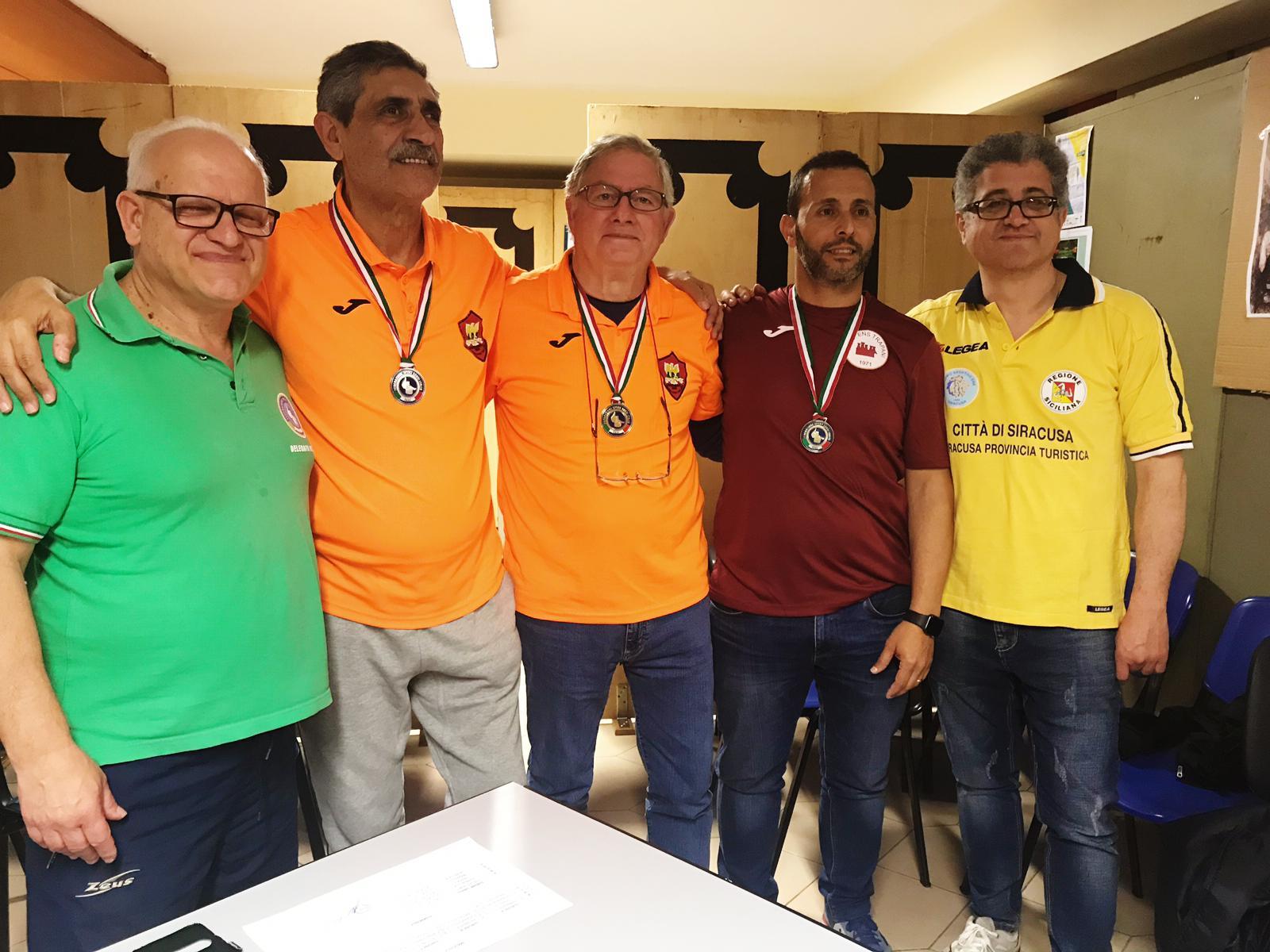 Risultati e foto del Campionato FSSI di Dama svoltosi a Siracusa