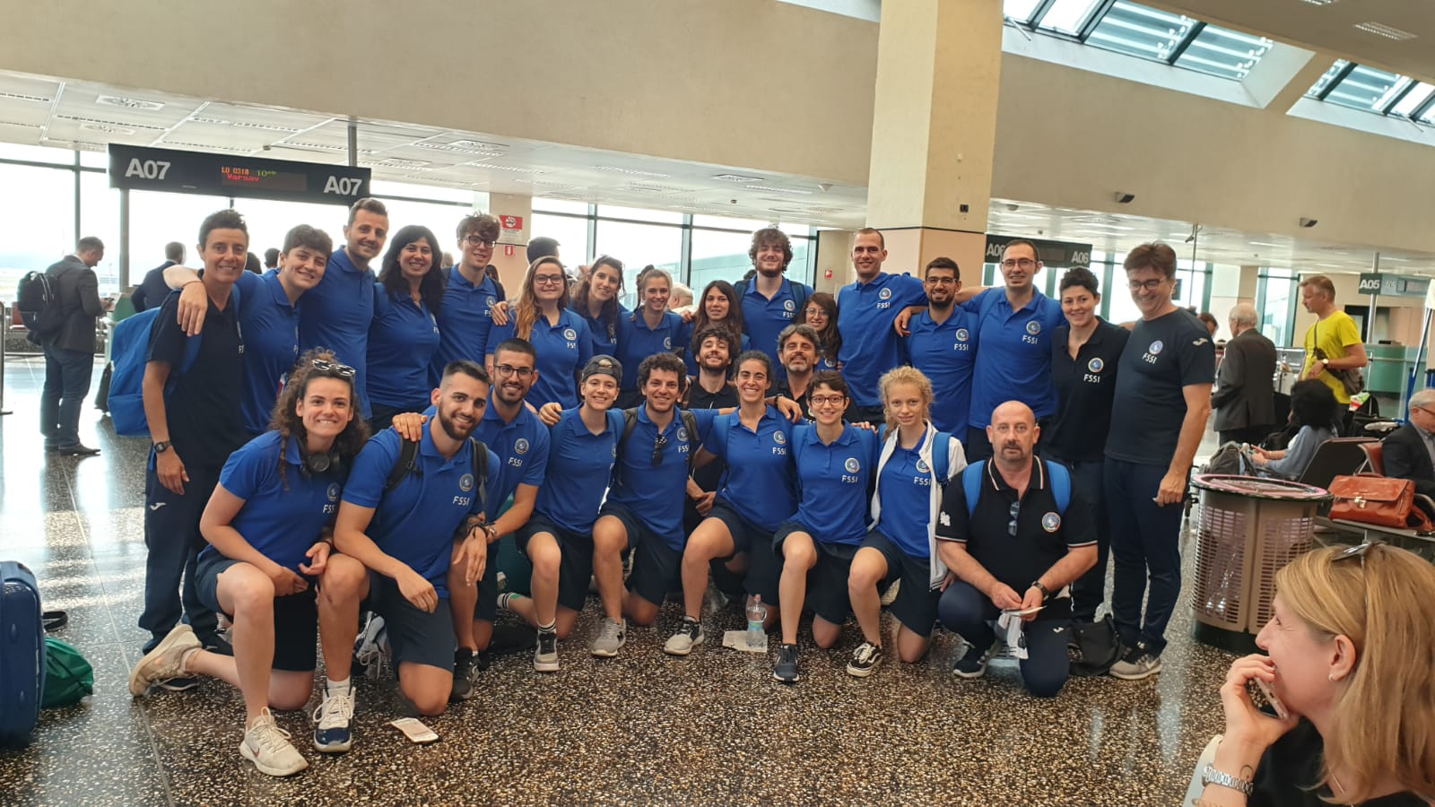 Partita la spedizione del Basket per i mondiali a Lublino