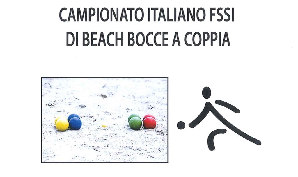 14 Settembre, Ghedi (BS). Campionato FSSI di Beach Bocce