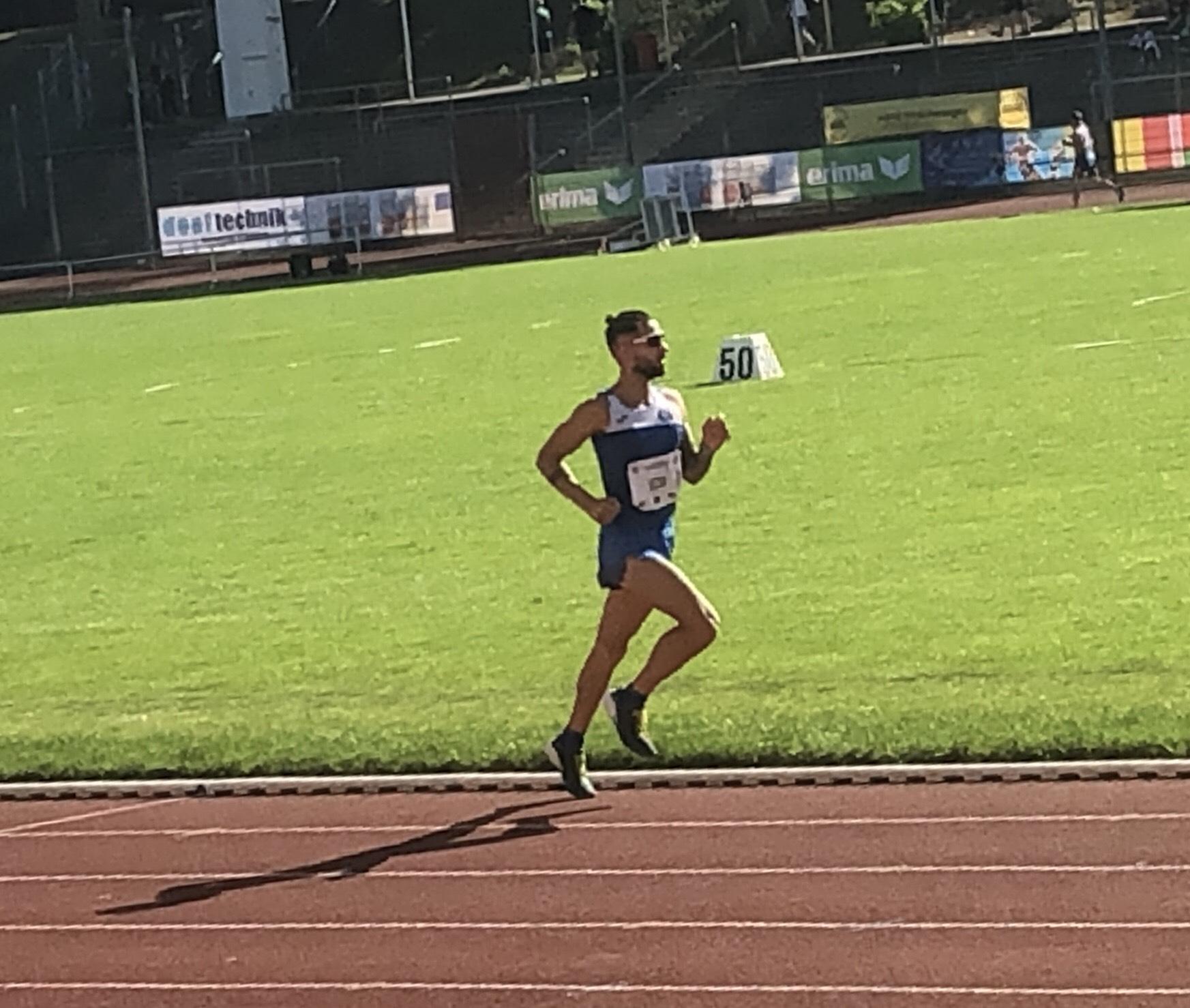 Atletica Leggera, l'azzurro Alessandro Vizzini centra il 5° posto nei 10.000 metri su pista