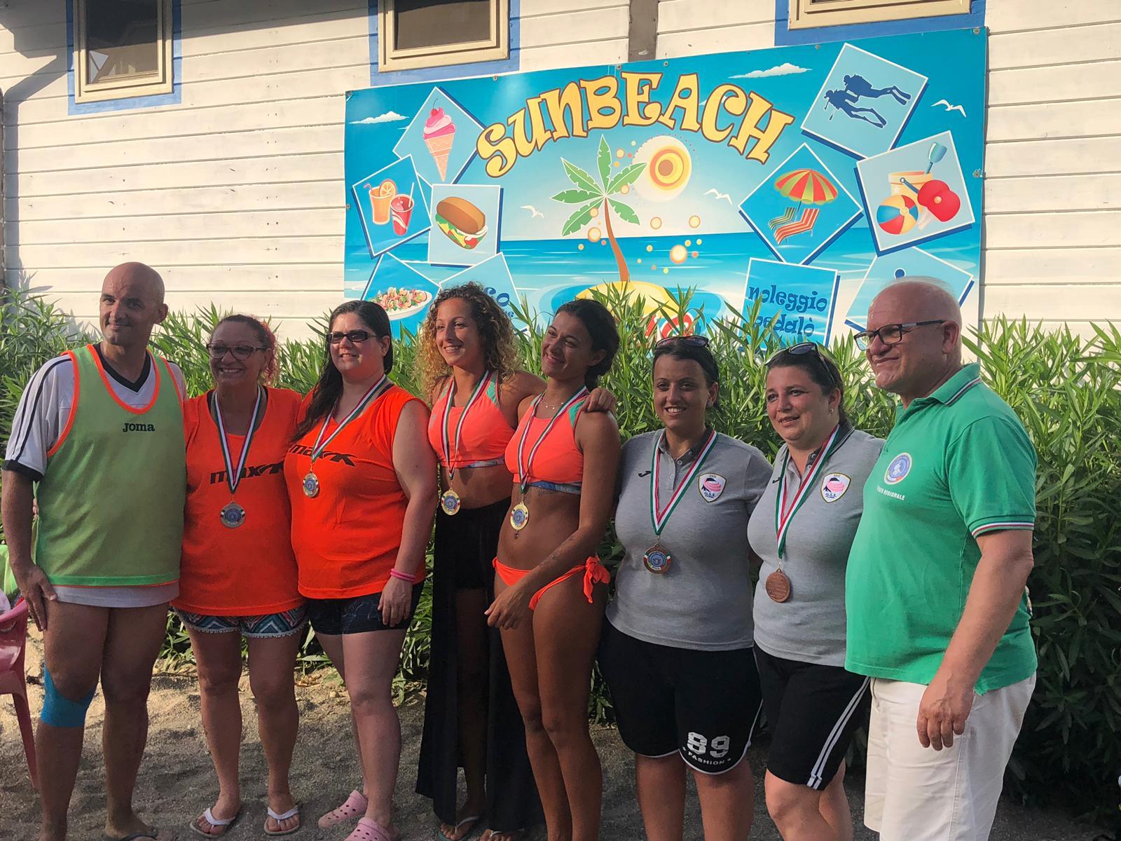 Risultati e foto del Campionato Regionale FSSI di Beach Volley svoltosi il 7 Luglio