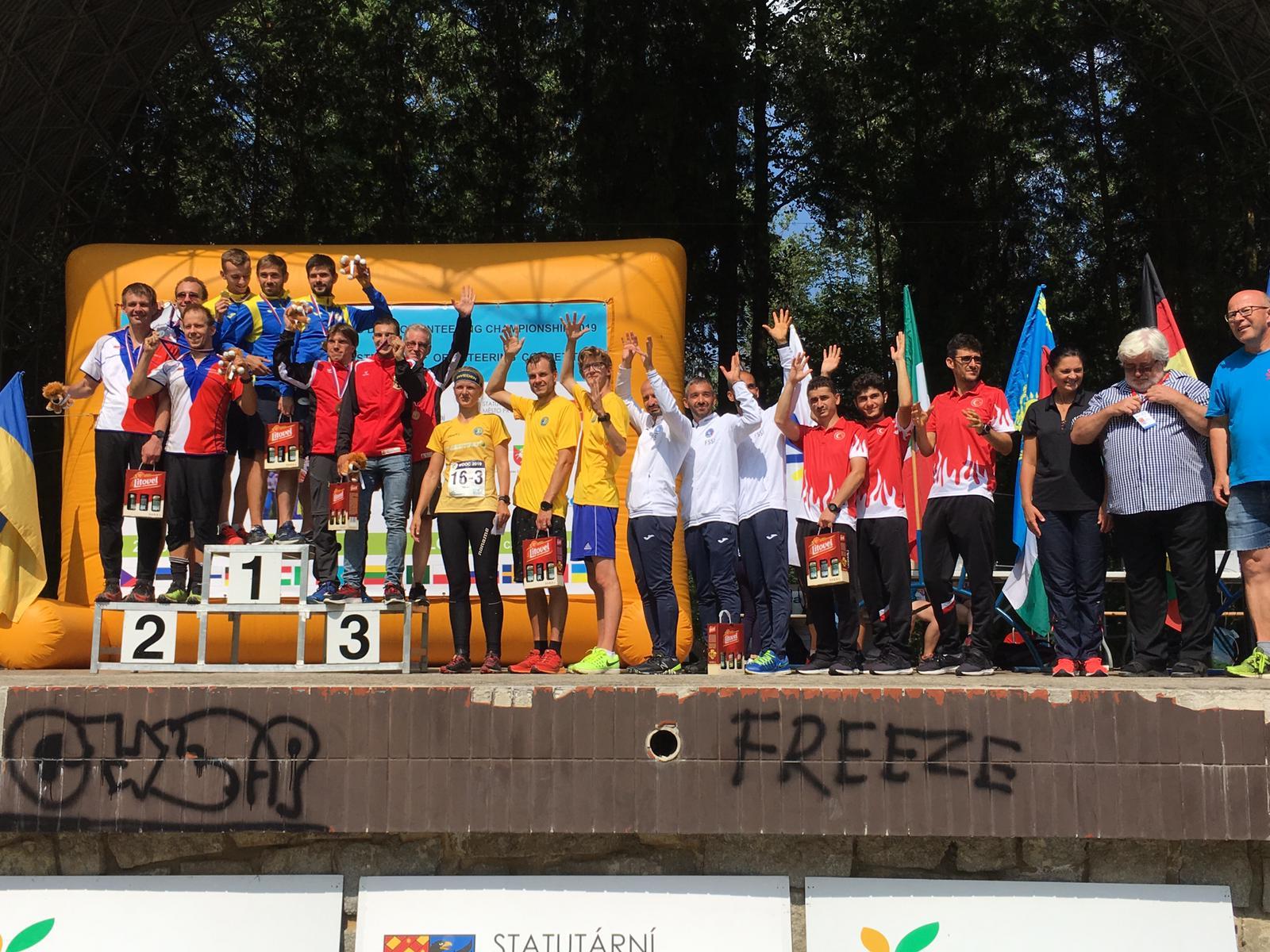 WDOC2019, Olomuc – Italia 5a nella staffetta ai Mondiali di Orienteering
