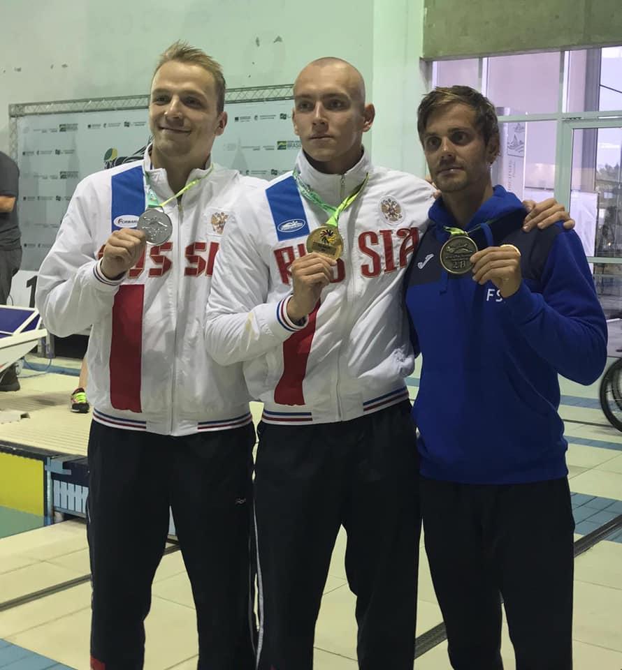 WDSC2019, São Paulo. Luca Germano conquista il bronzo nei 50mt farfalla