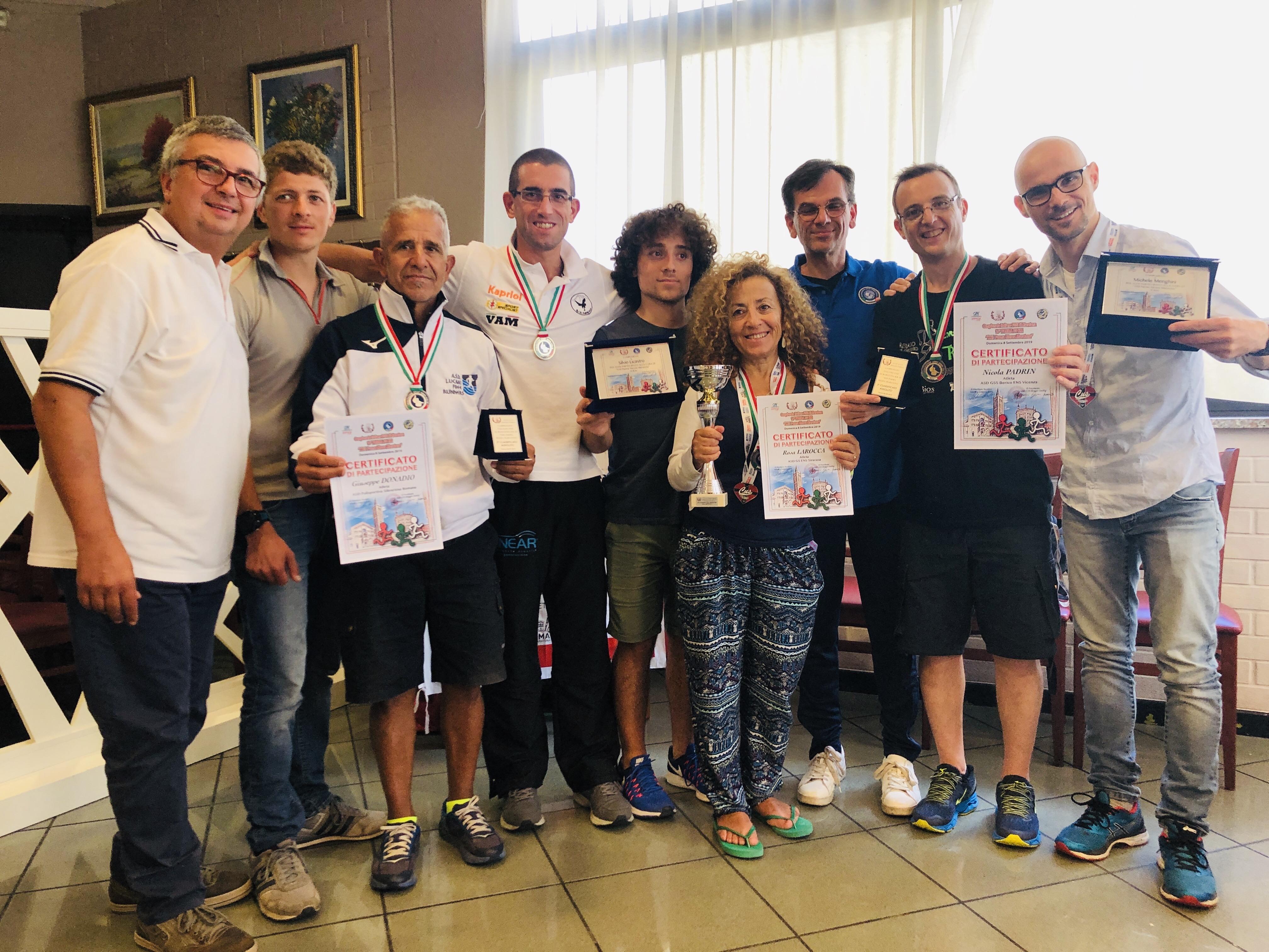 Relazione, risultati e foto del Campionato FSSI di Maratona svoltosi a Parma
