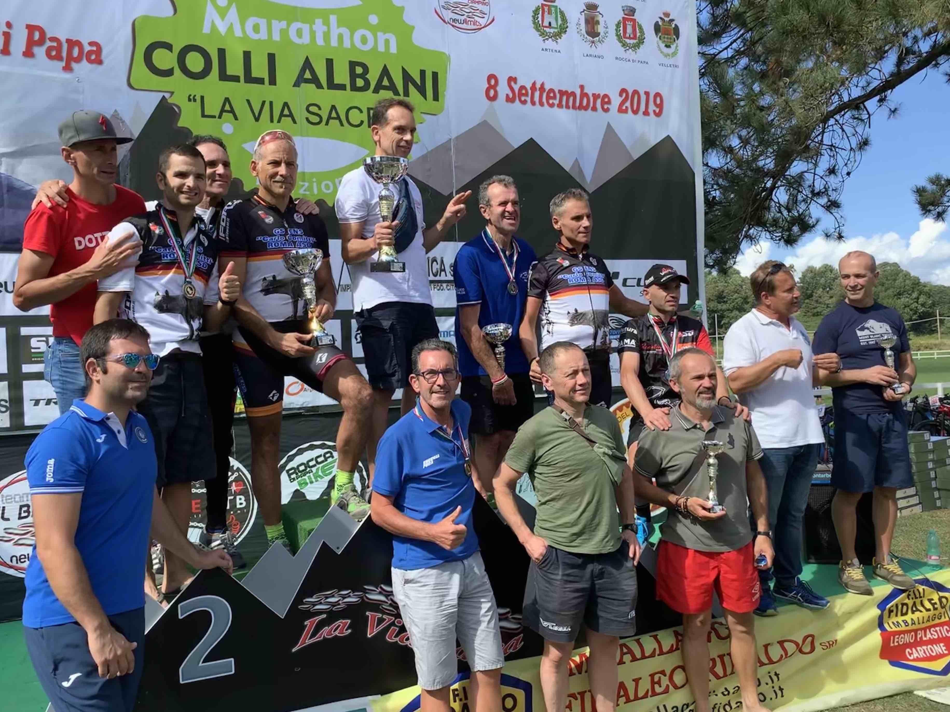 Risultati e foto del Campionato FSSI di MTB svoltosi a Colli Albani