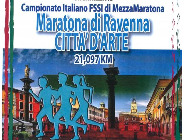 10 Novembre, Ravenna. Campionato FSSI di Mezza Maratona Km 21,097