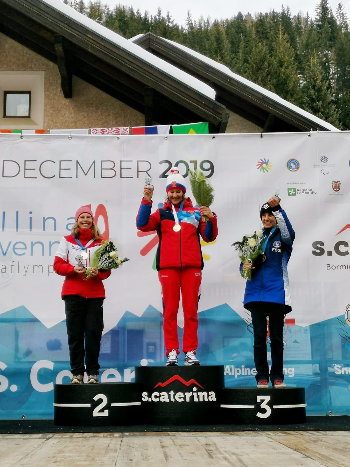 Erica Dugnani è bronzo nello snowboard: è la quinta medaglia per l'Italia alle Olimpiadi invernali dei sordi