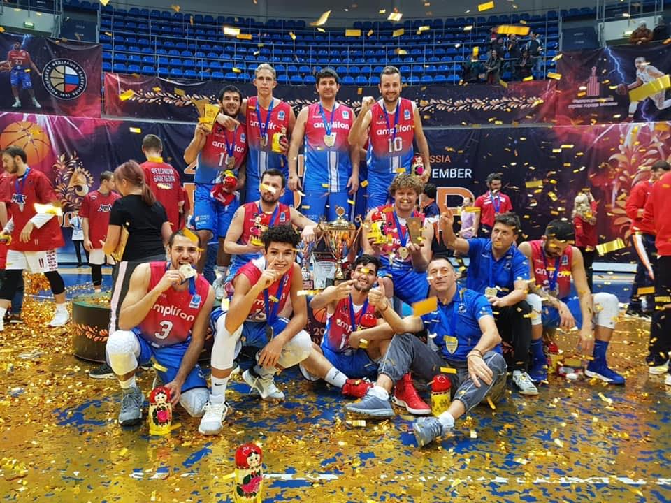 A Mosca l'Amplifon Royal Lions Fabriano vince il campionato Europeo