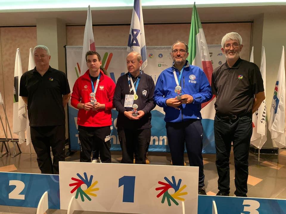 Chess Blitz, l'azzurro Duilio Collutiis ha vinto la medaglia di bronzo