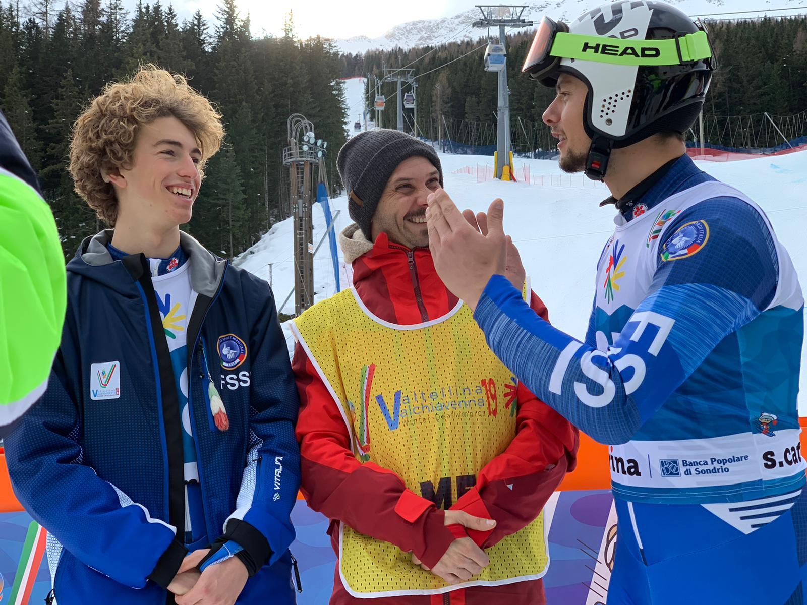 Lo sciatore azzurro Giacomo Pierbon conquista la 4° medaglia d'oro