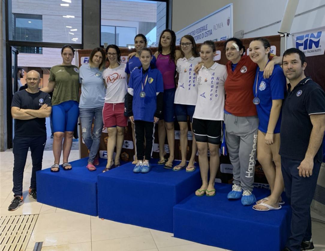 Risultati e foto del Campionato FSSI di Nuoto svoltosi a Ostia