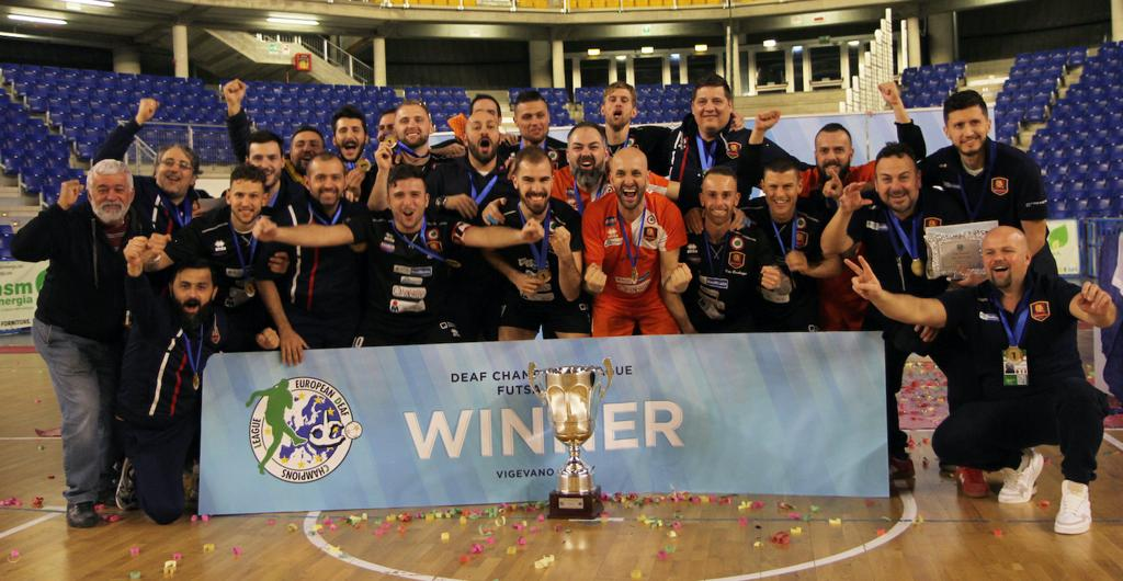 Risultati della Deaf Championship League svoltosi a Vigevano