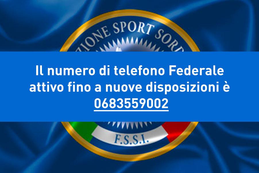 Numero di telefono Federale attivo