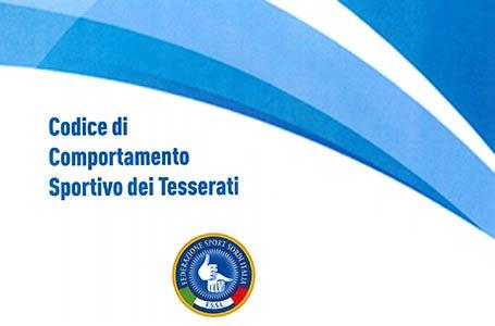 Codice di Comportamento Sportivo FSSI