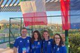 La delegazione italiana di tennis della FSSI è arrivata a Heraklion-Creta